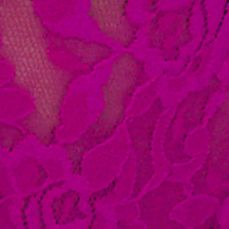 Luxury Lingerie: Hot Fuchsia Hanky Panky® Signature Lace Original Rise Thong - 4811