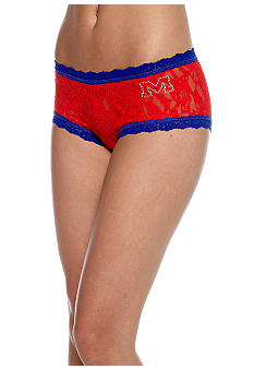 Hanky Panky University Of Mississippi Rebels Boy Short - Online Only - 4812UMS