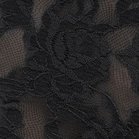 Junior Panties: Black Hanky Panky® Signature Lace Boyshort - 4812