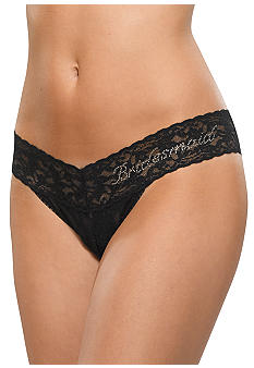 Hanky Panky Low Rise Bridesmaid Thong - Online Only - 491031