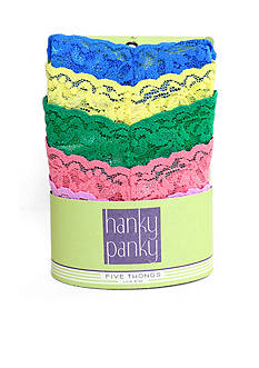 Hanky Panky® Low Rise Thong 5 Pack - 4911F