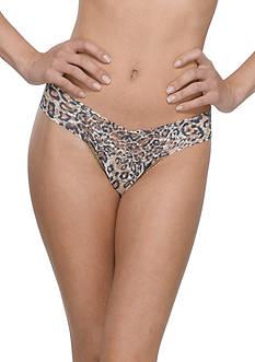 Hanky Panky® Leopard Nouveau Low Rise Thong - 4X1581