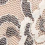 Modern Bras: Ivory/Coal Hanky Panky Cross-Dyed Crossover Bralette - 597801