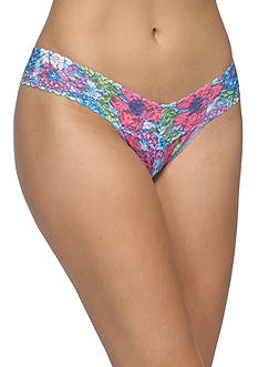 Hanky Panky® Penelope Floral Low Rise Thong - 5F1585