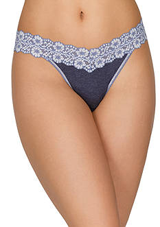 Hanky Panky® Heather Jersey Original Rise Thong - 681801