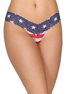 Hanky Panky® Stars and Stripes Low Rise Thong - 8N1582