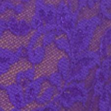 Plus Size Panties: Electric Purple Hanky Panky® Plus Size Retro Lace Thong - 9K1926X