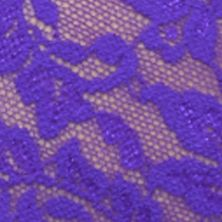 Valentine's Day Gifts: Electric Purple Hanky Panky® Retro Lace Thong - 9K1926