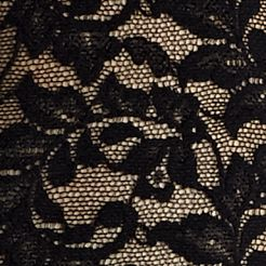 Women's Bikini Underwear: Black Hanky Panky® Plus Size Retro V-kini - 9K2124X
