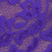 Designer Underwear for Women: Electric Purple Hanky Panky® Retro Lace Vikini - 9K2124