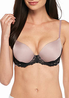 Lily of France Sensational Lace Push Up Bra - 2175220