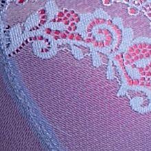 Average Figure Bra: Dark Pink/Purple DKNY Seductive Lights Balconette - 452174