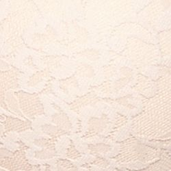 Average Figure Bra: Nude DKNY Signature Lace Embellished Underwire Push Up - 458210