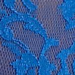 Women's Bikini Underwear: Royal Blue DKNY Signature Lace Bikini - 543000