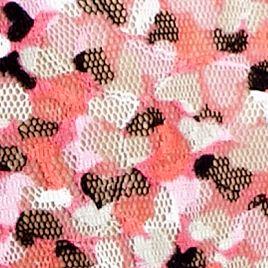 Luxury Lingerie: Candy Heart / Lip Gloss DKNY Signature Lace Bikini - 543000
