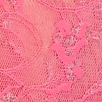 Womens Lingerie: 3 For $30 Mix & Match: Bright Pink DKNY Signature Lace Boyshort - 545000