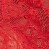 Luxury Lingerie: Red DKNY Signature Lace Boyshort - 545000