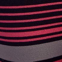 Luxury Lingerie: Pink Stripe DKNY Energy Seamless Bikini - 570046