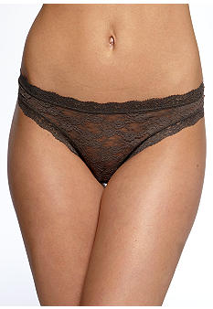 DKNY Signature Lace Thong - 576000