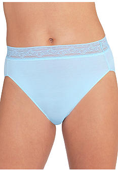 Vanity Fair Modal Lace Hi Cut - 0013251