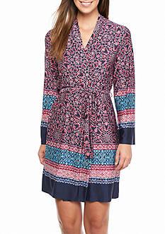 New Directions 8-Irina Border Wrap Robe