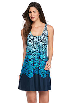 New Directions Intimates Ombre Border Chemise