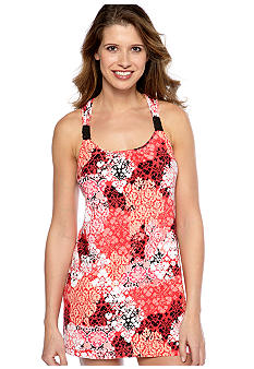 ND Intimates Damask Scroll Print Chemise