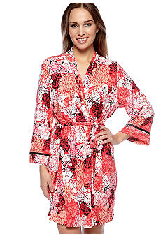 ND Intimates Damask Scroll Print Wrap