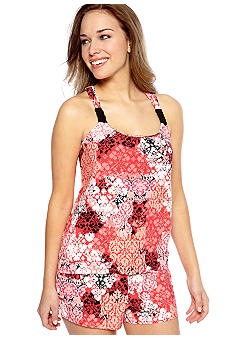 ND Intimates Damask Scroll Print Pajama Set