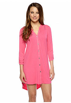 Anne Klein Solid Sleep Shirt