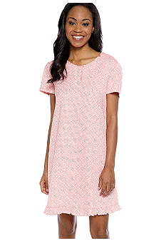 Karen Neuburger Dot Print Sleep Shirt