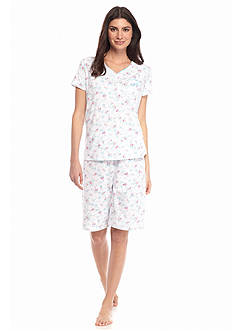 Karen Neuburger Short Sleeve Bermuda Pajama Set