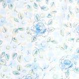 Karen Neuburger: Floral Blueberry Karen Neuburger Plus Size Short Sleeve Floral Cardigan Capri Pajama Set