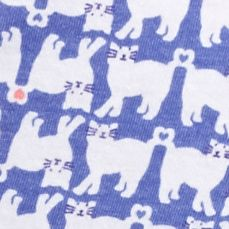 Women: Designer Sale: Cat Ultramarine Karen Neuburger Printed Bermuda Short