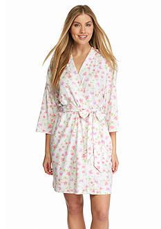 Karen Neuburger Floral Kimono Robe