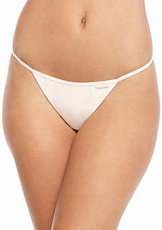 Calvin Klein Sleek String Thong - D3509