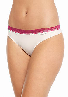 Calvin Klein Invisible Lace Thong - D3517