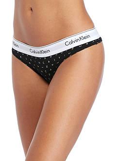 Calvin Klein Modern Cotton Thong - F3786