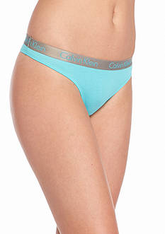 Calvin Klein Radiant Cotton Thong - QD3539