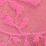 Designer Underwear for Women: Pink Calvin Klein Bare Lace Hipster - QD3597