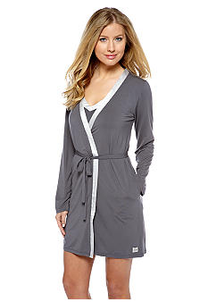 Calvin Klein Short Wrap Robe