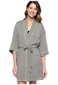 Josie by Natori Short Wrap Robe