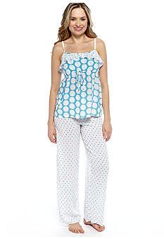 Josie by Natori Dot Print Pajama Set
