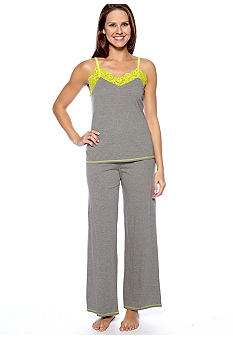 Josie by Natori Lace Trim Pajama Set