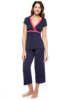 Josie by Natori Electric Trim Pajama Set