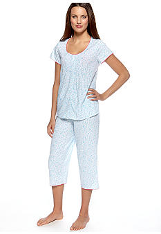 Character Short Sleeve Scroll Pajama Set