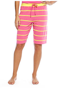 Jockey Textured Stripe Bermuda Short