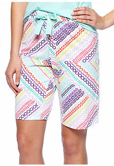 Jockey Printed Bermuda Sleep Short