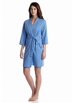 Jockey Solid Blue Robe