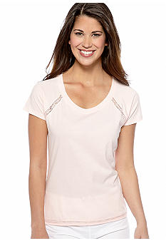 Jockey Lace Trim Sleep Tee